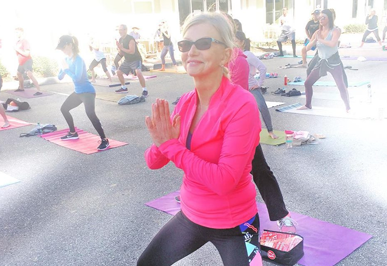 Life Balance with Heidi at the Illuminate Sarasota Mind-Body-Spirit Festival