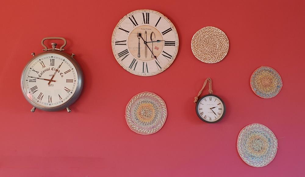 overcoming procrastination wall clocks